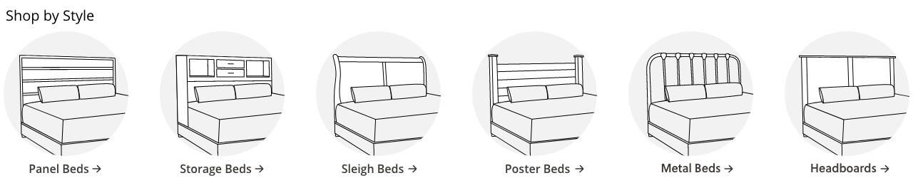 upholstered beds ashley furniture