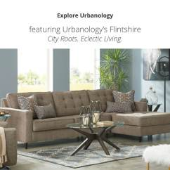 Decorating With Dark Leather Sofa Synergy Furniture Living Room | Ashley Homestore