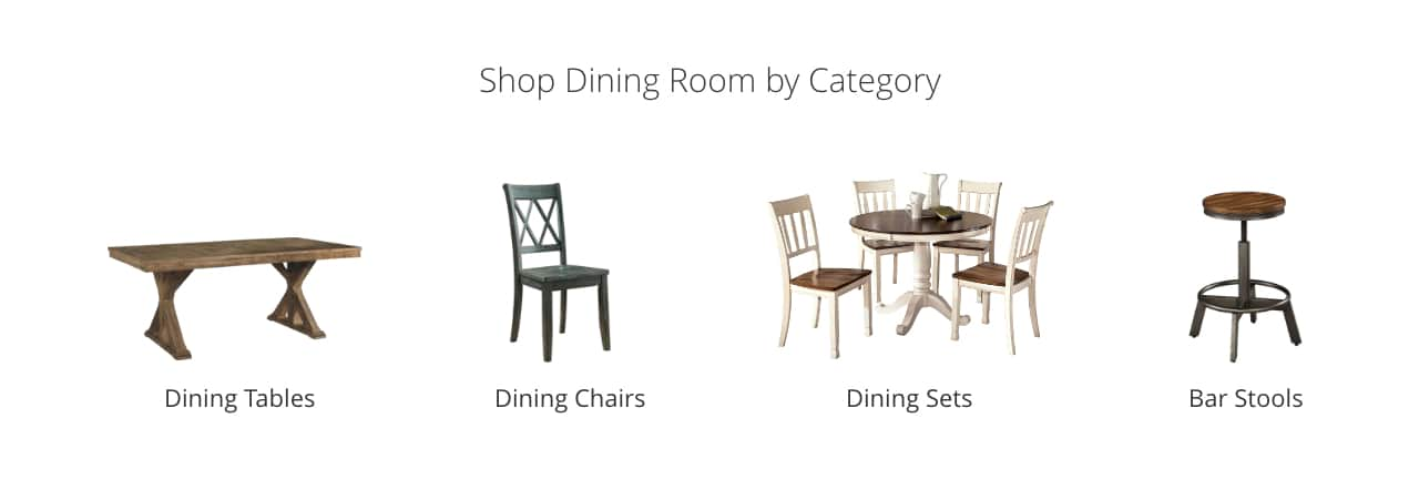 kitchen table and chair ergonomic or gaming dining room furniture ashley homestore tables chairs sets bar stools