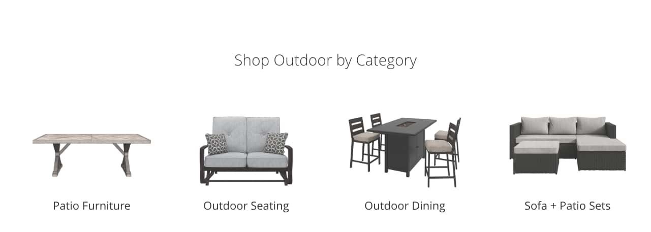 outdoor furniture sofa cover simmons sectional reviews accessories ashley homestore patio seating dining and sets