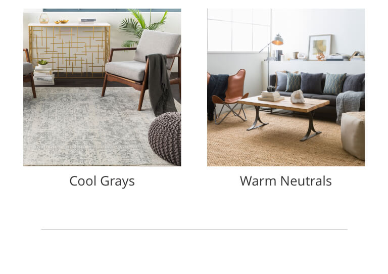 neutral rugs for living room chair layout ashley furniture homestore cool gray warm