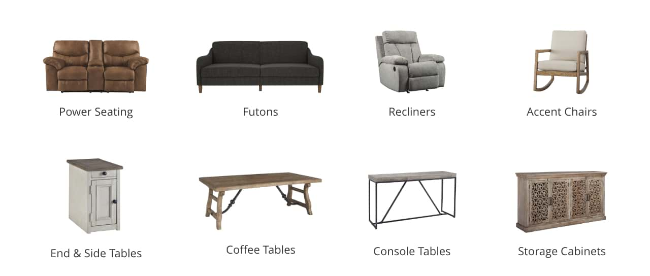 sofa tables for living room indian inspired furniture ashley homestore power seating futons recliners accent chairs end and side coffee