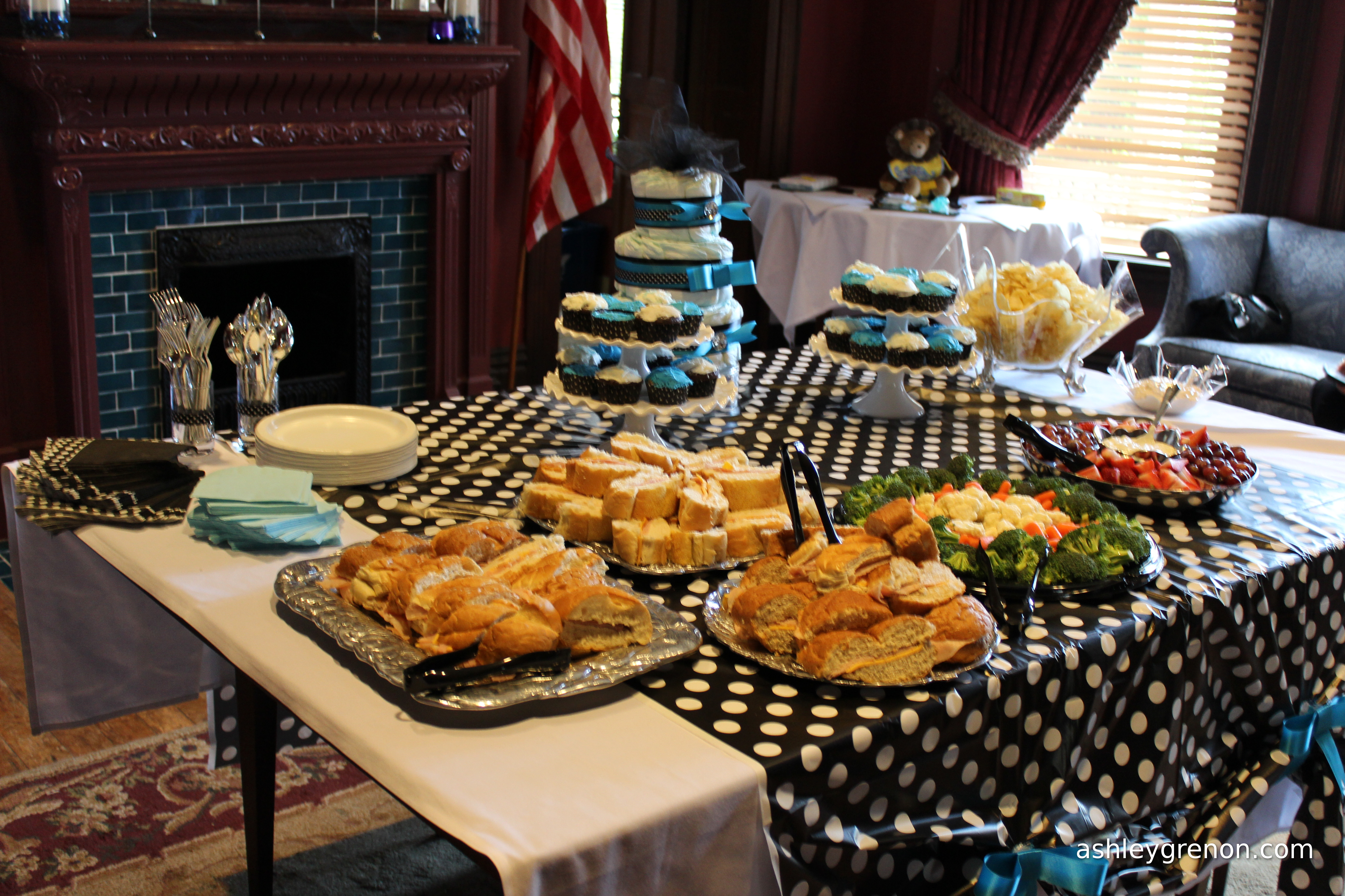 Ashley Hosts A Baby Shower For A Baby Boy Handmade With Ashley