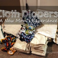 Cloth Diapers:  Learning from Experience
