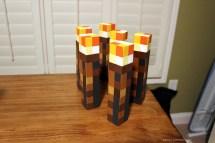 Diy Minecraft Torch Tutorial - Handmade With Ashley