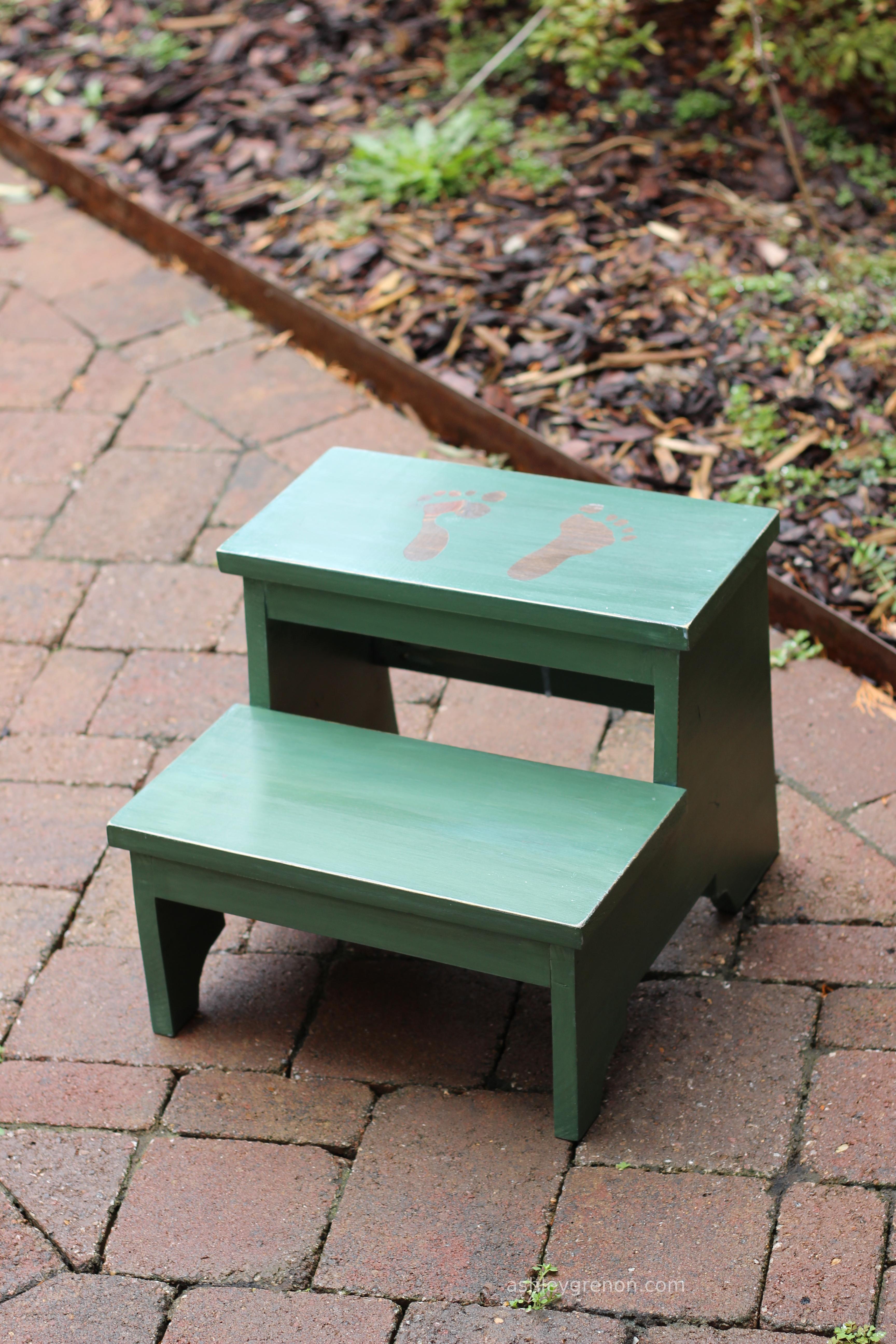 Diy Vintage Step Stool Plans By Ana White Handmade