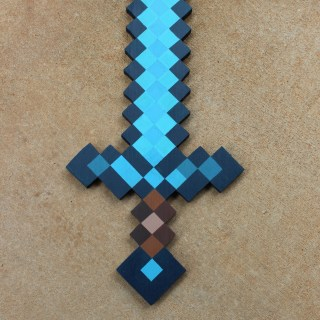 DIY Minecraft Sword (Wooden Sword Tutorial)