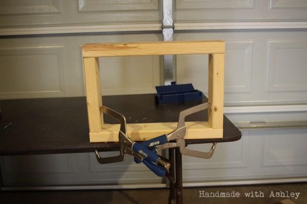 Assembling the top rack