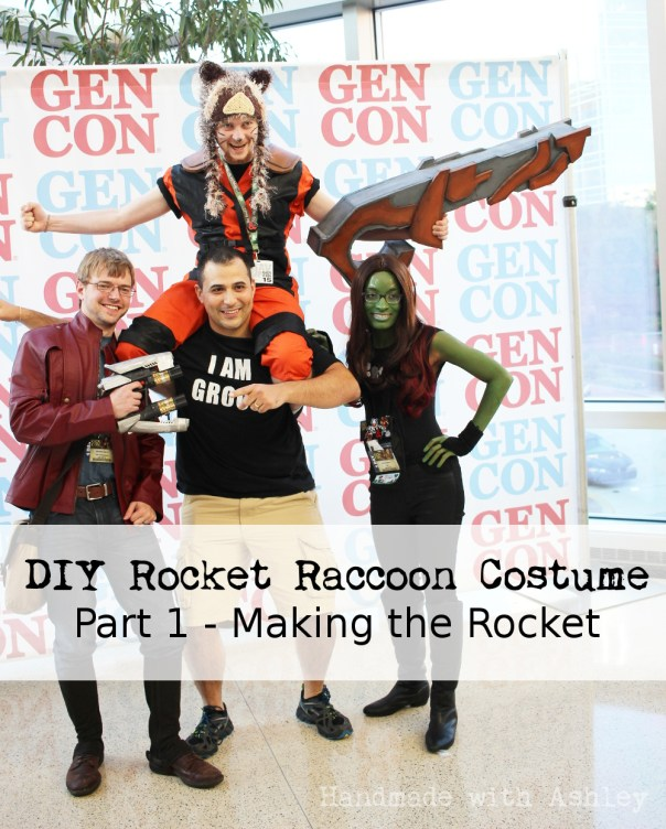 Ashley Makes: Rocket Raccoon's Rocket