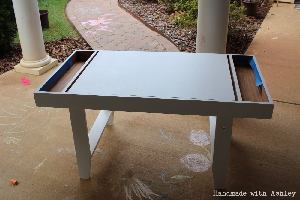 DIY Geometric Kids Art Table – September Fab Furniture ...