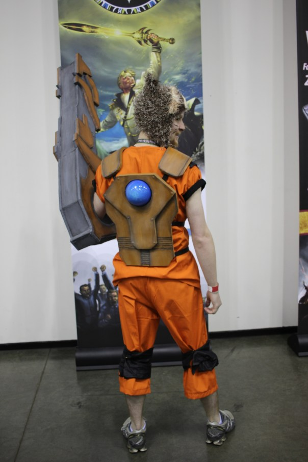 Finished Rocket Raccoon costume