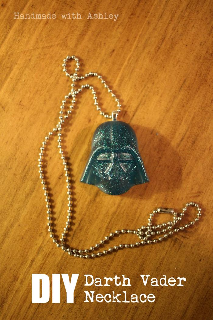 DIY Star Wars Jewelry: Darth Vader Necklace