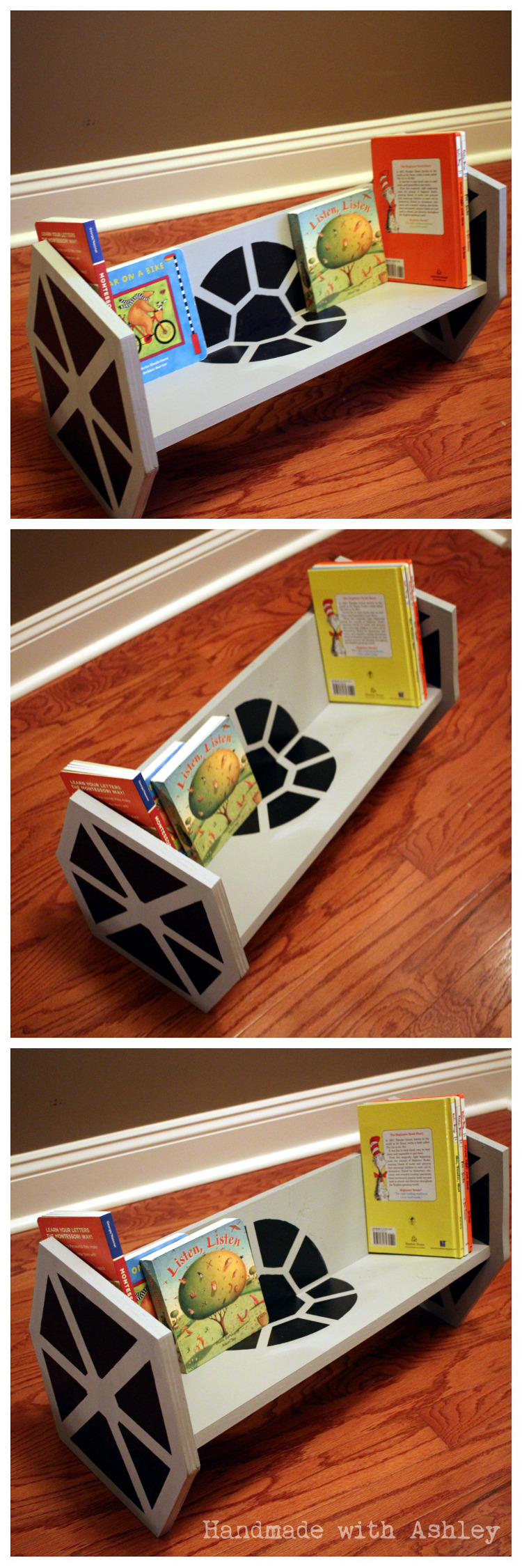 DIY TIE Fighter Bookshelf