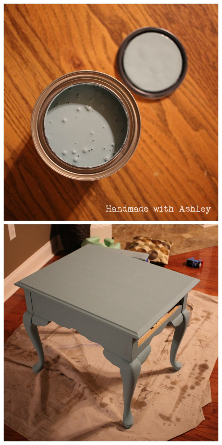 General Finishes Key West Blue Chalk Paint