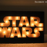 DIY Star Wars Marquee Wall Art Sign
