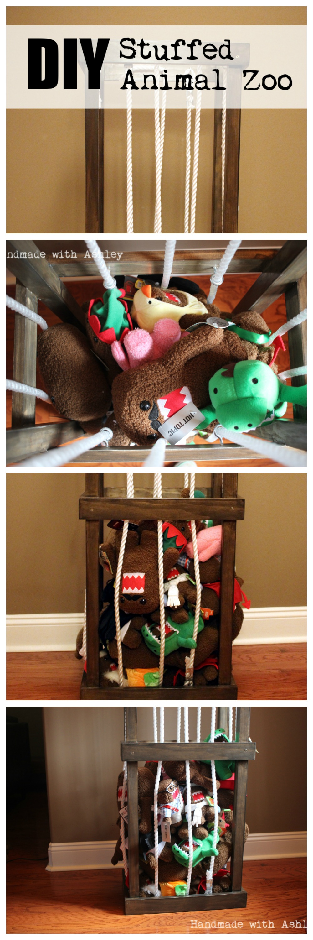 Diy Stuffed Animal Storage Plans By Ana White Handmade