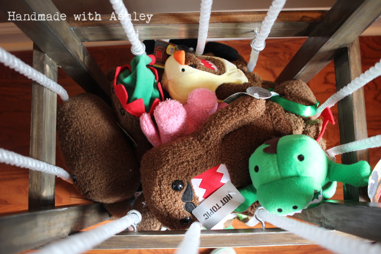 Diy Stuffed Animal Storage Plans By Ana White Handmade