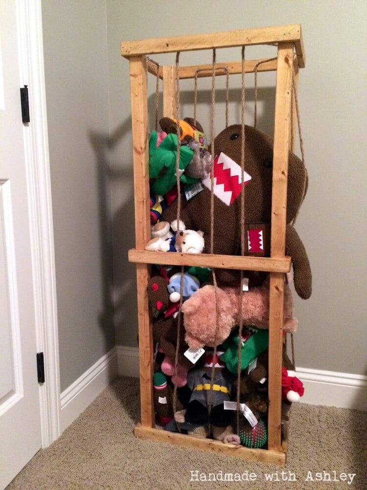 Diy Stuffed Animal Zoo Tower Plans By Ana White