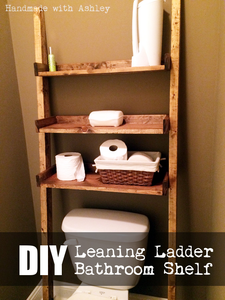 Swell Diy Leaning Ladder Bathroom Shelf Plans By Ana White Download Free Architecture Designs Scobabritishbridgeorg