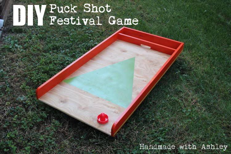 DIY Puck Shot Festival Game