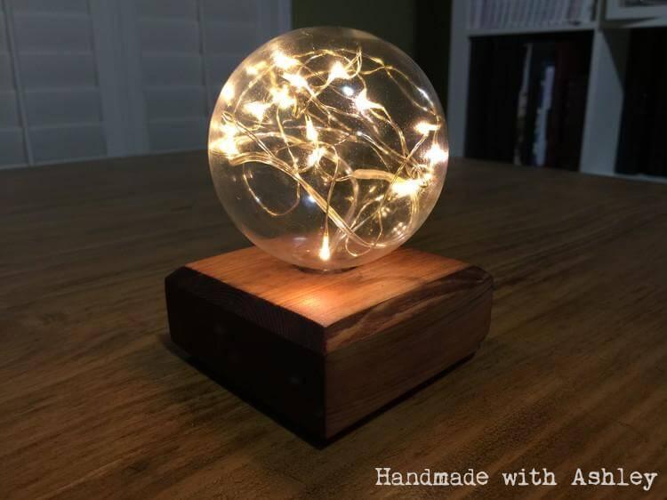 DIY Fairy Light Globe