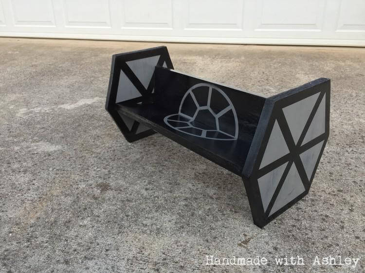 DIY TIE Fighter Shelf