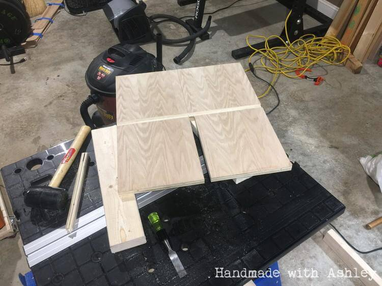 Plywood joint