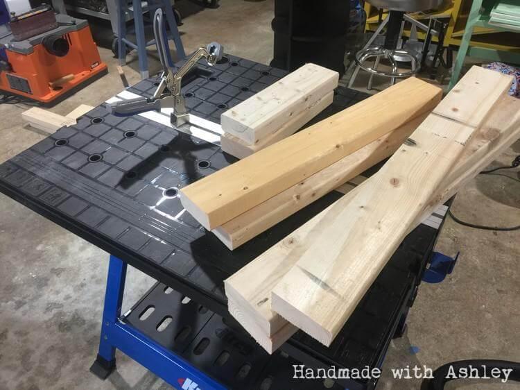 DIY Mobile Lathe Stand - Handmade with Ashley