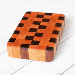 How to make an end grain cutting board woodworking tutorial