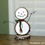 DIY Wooden Snowman   Half-Hour Holiday Challenge