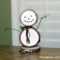 DIY Wooden Snowman | Half-Hour Holiday Challenge