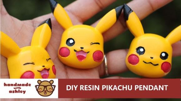 Needleminder Pikachu Epoxy Resin