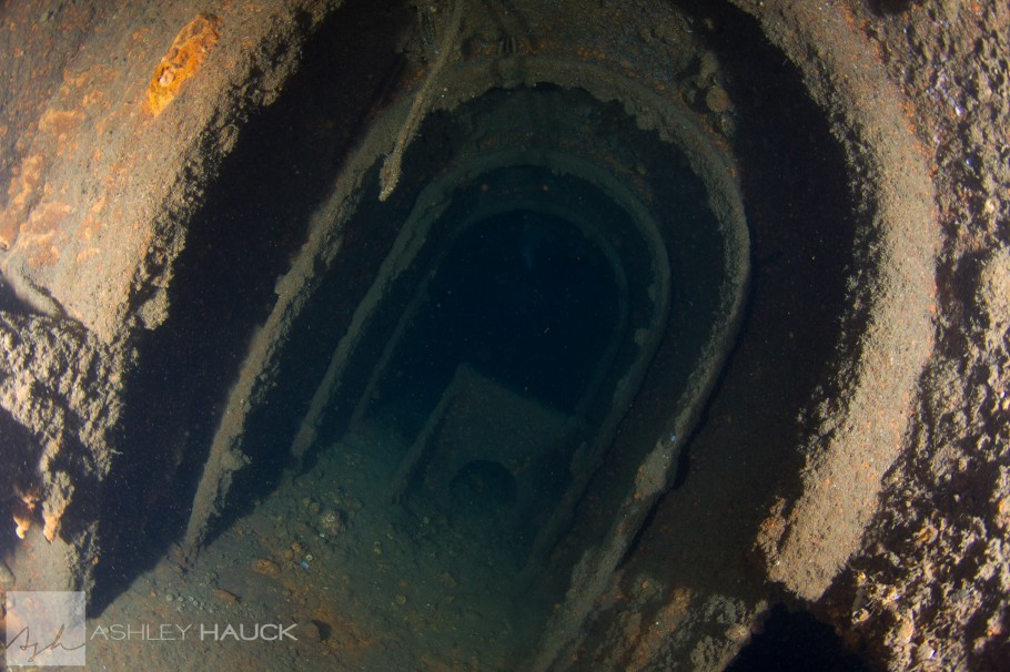 Inside the Palawan Wreck