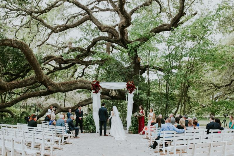 Laurel Wood Gardens Wedding Photos Dade City FL Victoria