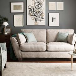 Ashley Manor Harriet Sofa In Mink Luxury Decorative Pillows Home And Textiles