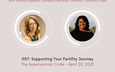 Ep 57: Supporting Your Fertility Journey with Fertility Matters Canada Executive Director, Carolynn Dubé