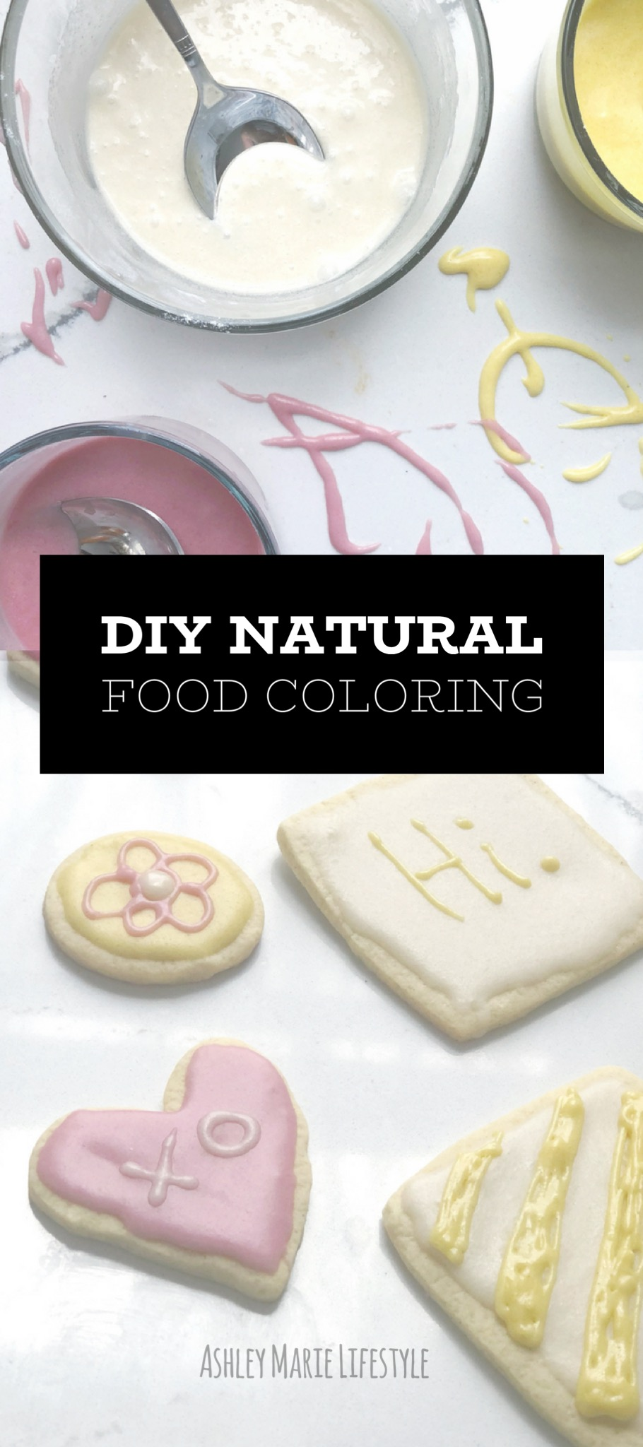 DIY Natural Food Coloring | Ashley Marie Farm and Bakery