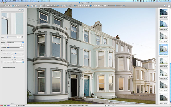 Keri Johnson's townhouse which overlooks Ballyholme Bay in the County Down seaside town of Bangor.