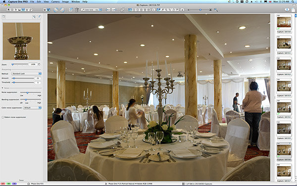 One of the first pictures taken in the Ballyvaughan ballroom at the Galway Bay Hotel.