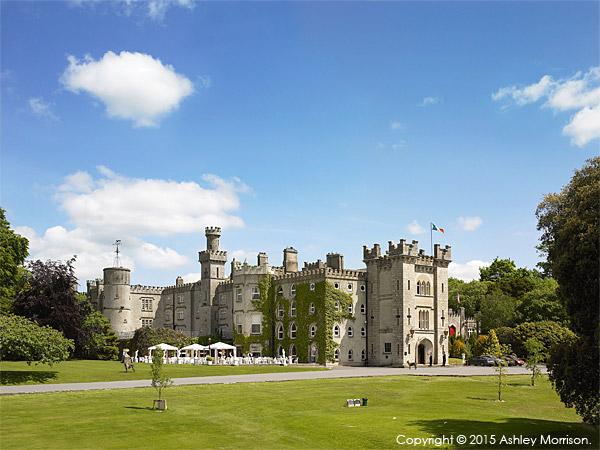 Cabra Castle outside the town of Kingscourt in County Cavan.
