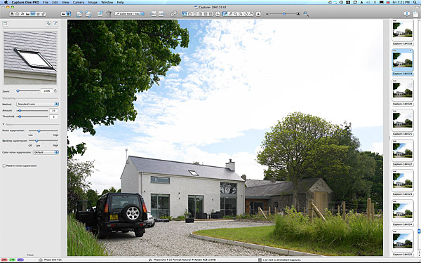 Kim & Derek Loughery's barn extension nestled in the Sperrin Mountains near Limavady in County Londonderry.