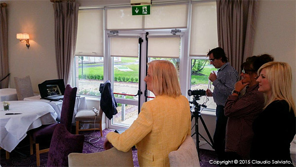 Shooting in the restaurant at the Breaffy House Resort in County Mayo.