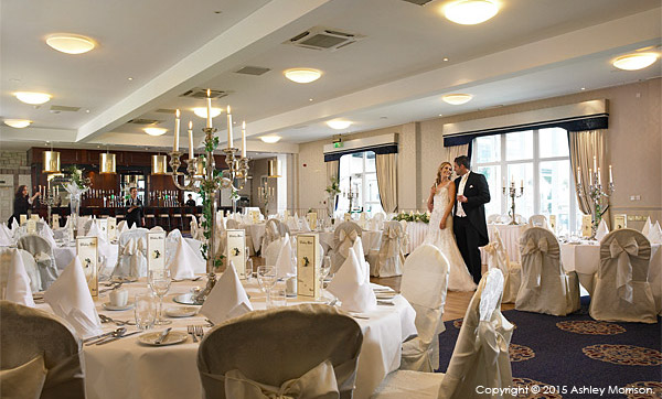 The Banquet suite at the Breaffy House Resort in County Mayo.