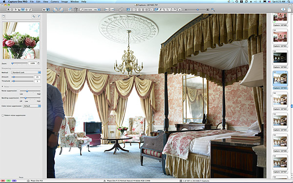 One of the first pictures taken in the Viceroy Suite at the Kildare Hotel Spa & Golf Club.
