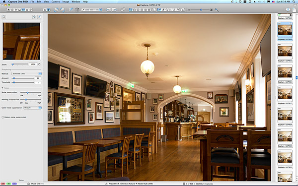 First pictures taken in Healy Mac's bar at the Breaffy House Resort in County Mayo.