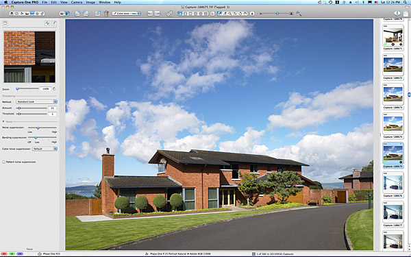 Anna & Jamie McMinnis's contemporary detached house which overlooks the County Down town of Holywood and Belfast Lough.