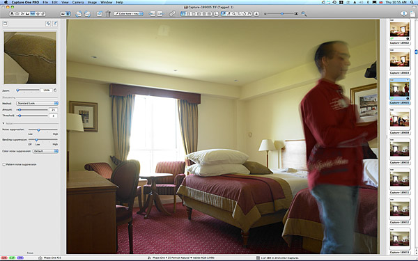 First picture taken in the Classic double bedroom at the Galway Bay Hotel on the promenade at Salthill.