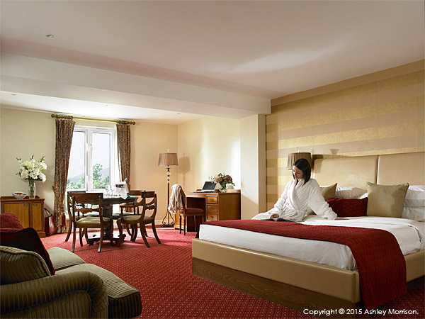 The Blackrock Suite at the Galway Bay Hotel on the promenade at Salthill.