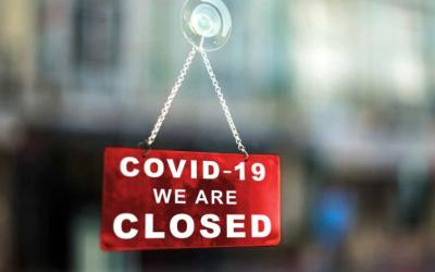 Closing our branches due to social distance government directive