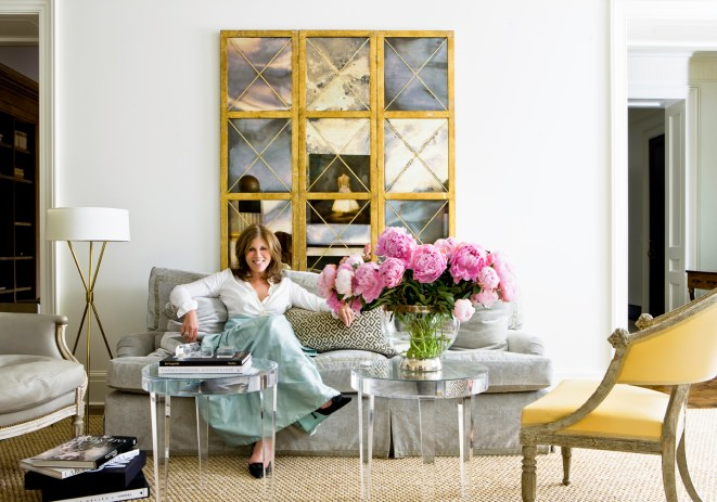 interior Design by Suzanne Kasler in Timeless Style via Tobi Fairley